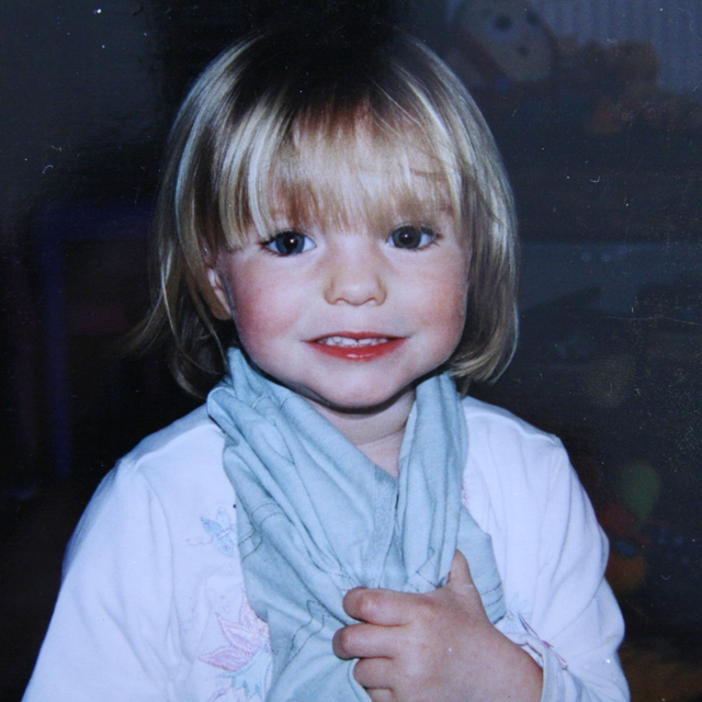 Madeleine Beth McCann: missing since May 3, 2007. Source: Getty.