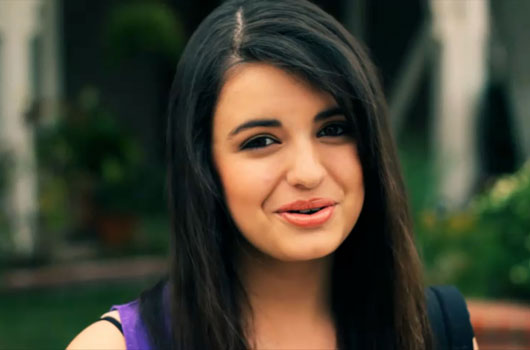 Potential one-hit wonder Rebecca Black.
