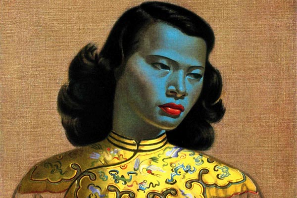 'Chinese Girl' by Russian artist Vladmir Tretchikoff. (AAP)