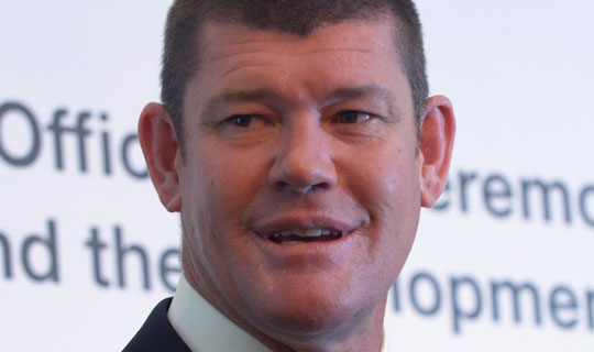 """Billionaire James Packer said he was """"deeply concerned"""" for the detained employees. (AAP)"""