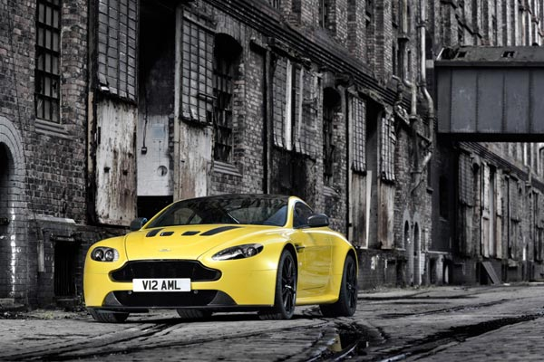 Aston's new V12 Vanquish. (supplied)