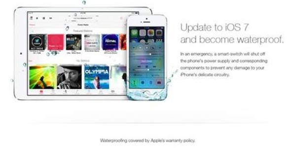 Fake Apple ad