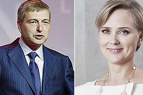 Dmitry Rybolovlev  and Elena Rybolovleva