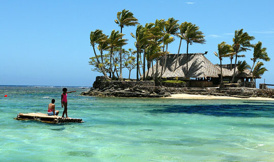 You could snag a cheap holiday to Fiji.