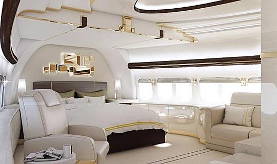 Inside Private Jumbo Jet  Wwwimgarcade  Online Image Arcade