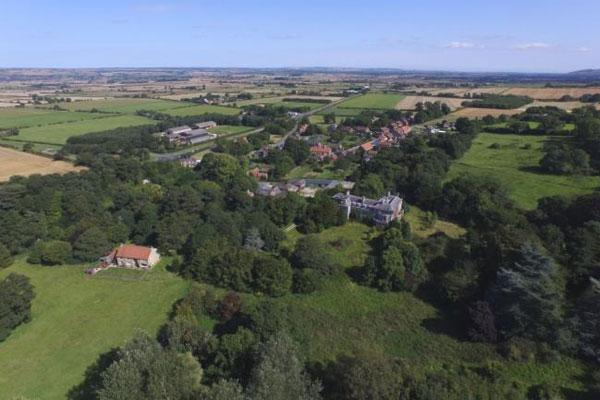 View of West Heslerton village (Cundalls)