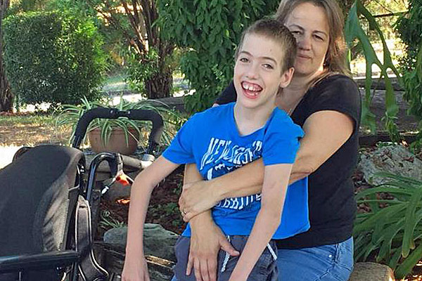 Andrew, 12, and Renee Duggan. (Facebook / Howard Duggan)
