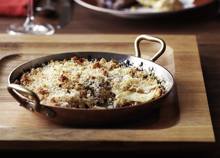 Potato and cabbage gratin