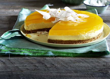 Mascarpone And Coconut Cake With Mango Jelly 9kitchen