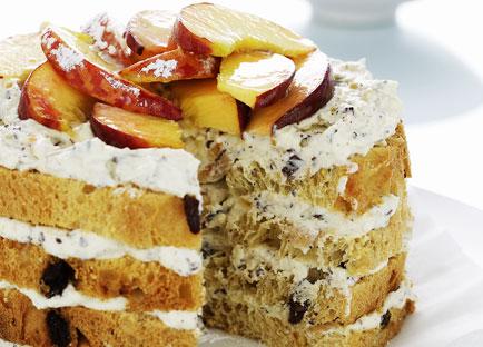 Ricotta Passionfruit Layer Cake Recipe