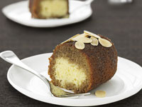 Coffee and rum cake