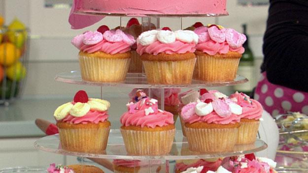 Fairy cupcake tower