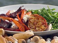 Warm roasted winter beetroot & fennel salad