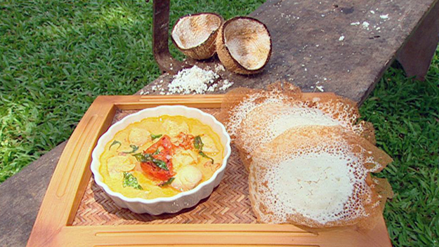 Appam (coconut milk appam)