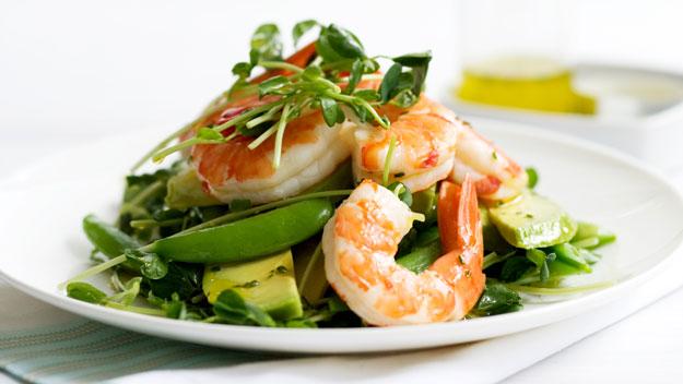 Салат креветки с авокадо рецепт с фото