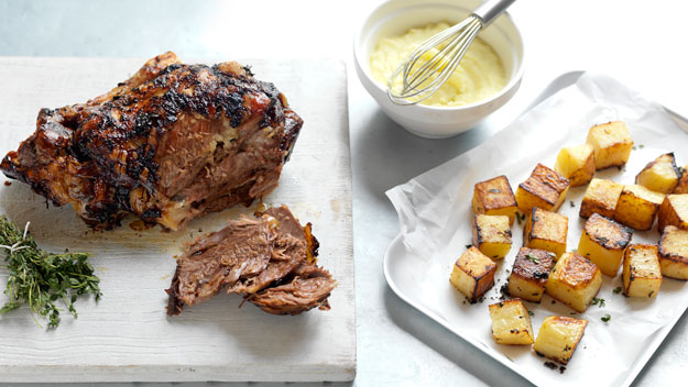 recipe: greek roast lamb [28]