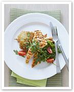 Piri piri chicken with potato rosti