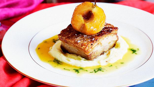 Roast pork belly gravy recipe