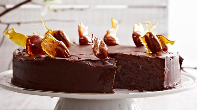 Chocolate Nut Cake 9kitchen