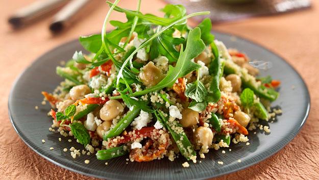 Couscous & Chick Pea Salad
