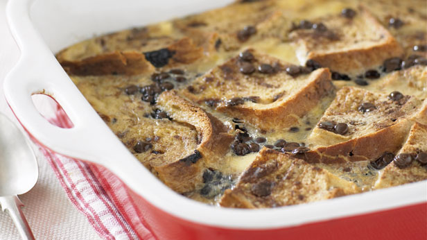 Chocolate sultana bread and butter pudding recipe - 9Kitchen