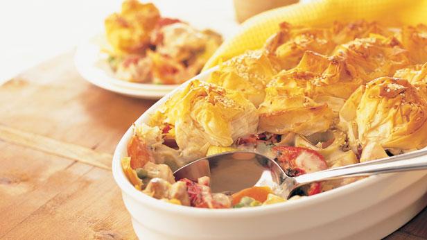 Creamy Chicken And Vegetable Pie 9kitchen