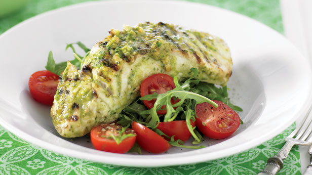 barbecue pesto fish recipe 9kitchen