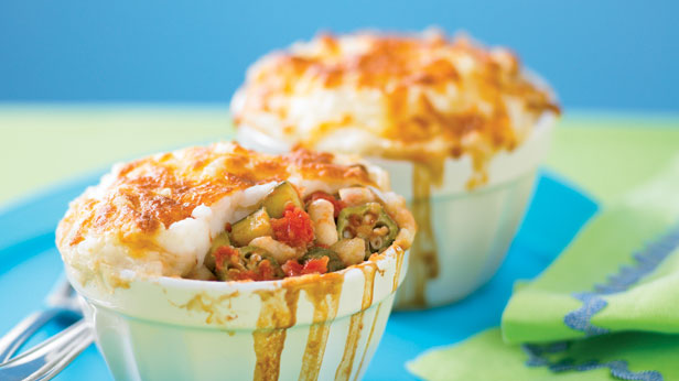 Hearty and vegie pies