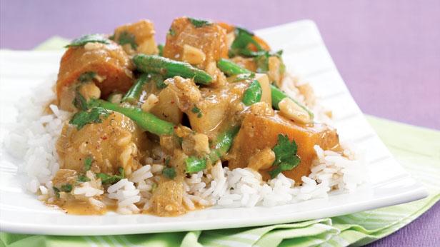 Massaman potato curry