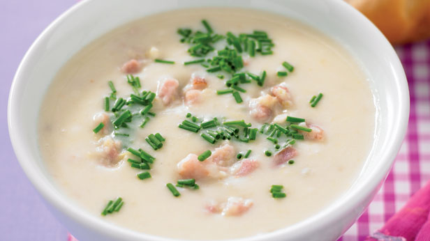Potato leek and bacon soup recipe - 9kitchen