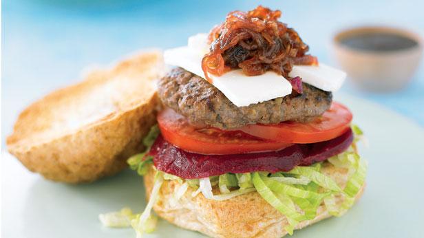 Super beef burger