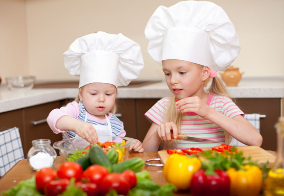 How to get your kids started in the kitchen