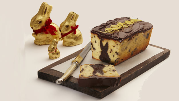 Lindt Chocolate Bunny Cake