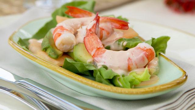 recipe: prawn and avocado cocktail [5]