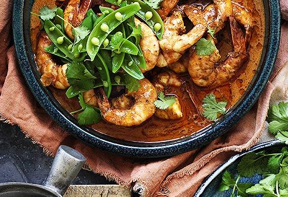 Spicy Red Australian Prawn Curry 9kitchen
