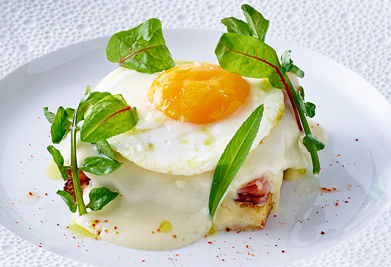 Neil Martin's croque madame