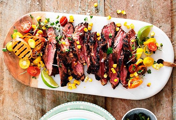 Spicy Texan Style Beef Bavette 9kitchen