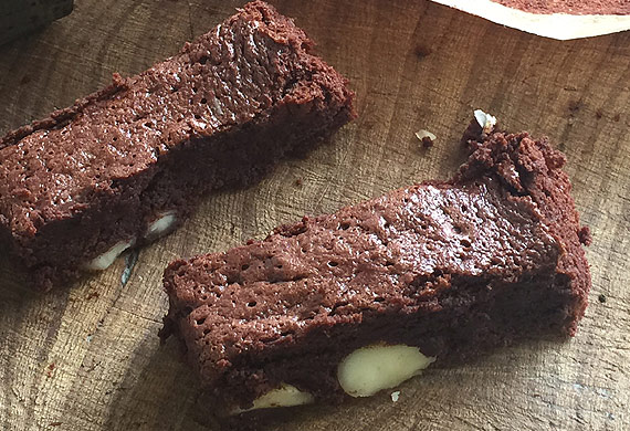 Willie Harcourt-Cooze's flourless macadamia nut brownies