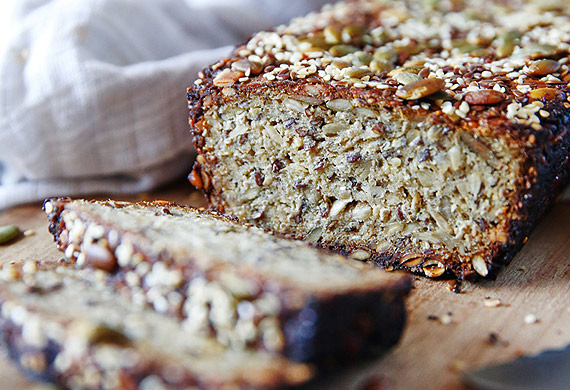 Brooke Meredith's gluten-free quinoa loaf