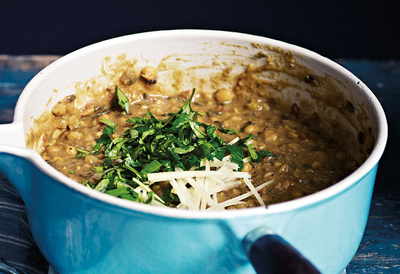 Anjum Anand's Bengal tiger lentil curry