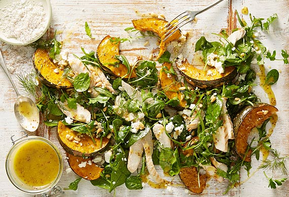 ... roast potatoes roast ed pumpkin salad festive roast pumpkin salad