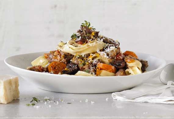 Anthony Puharich's oxtail ragu pappardelle