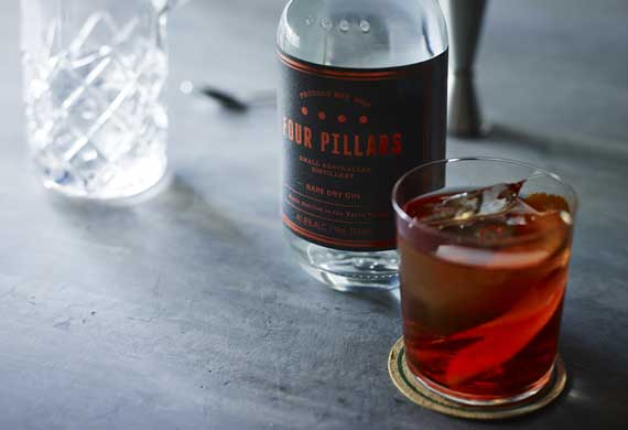 Four Pillars negroni