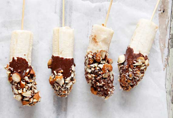 Brooke Meredith's frozen banana pops