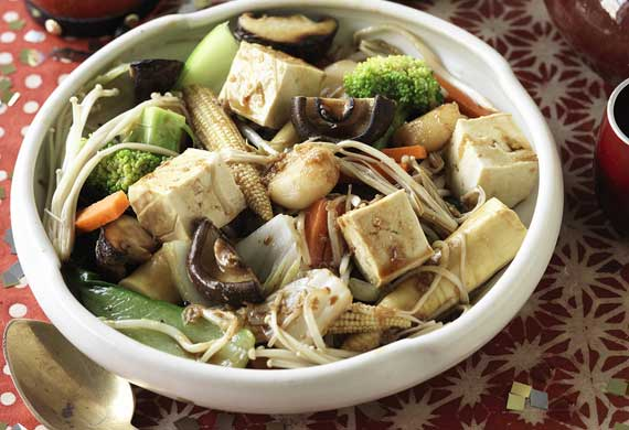 Buddah's Delight vegetable stir-fry