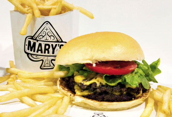 Mary's Jake Smyth on how to make perfect, juicy burgers every time
