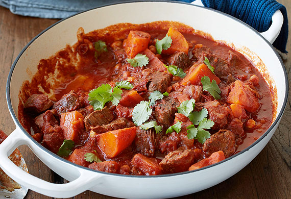 """Recipe: <a href=""""http://kitchen.nine.com.au/2016/05/05/11/29/em-ruscianos-beef-casserole-with-sweet-potato-and-chickpeas"""" draggable=""""false"""" target=""""_top"""">Beef casserole with sweet potato</a>"""