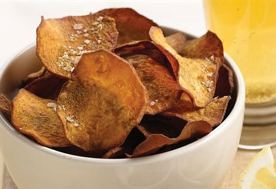 Kumara chips with cumin salt
