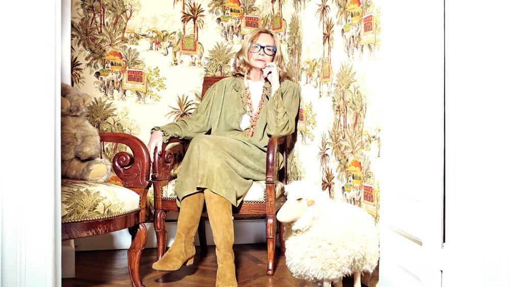 Moshino muse and ex-chief creative Rosella Jardini