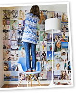 Dress up your walls - with more than just wallpaper